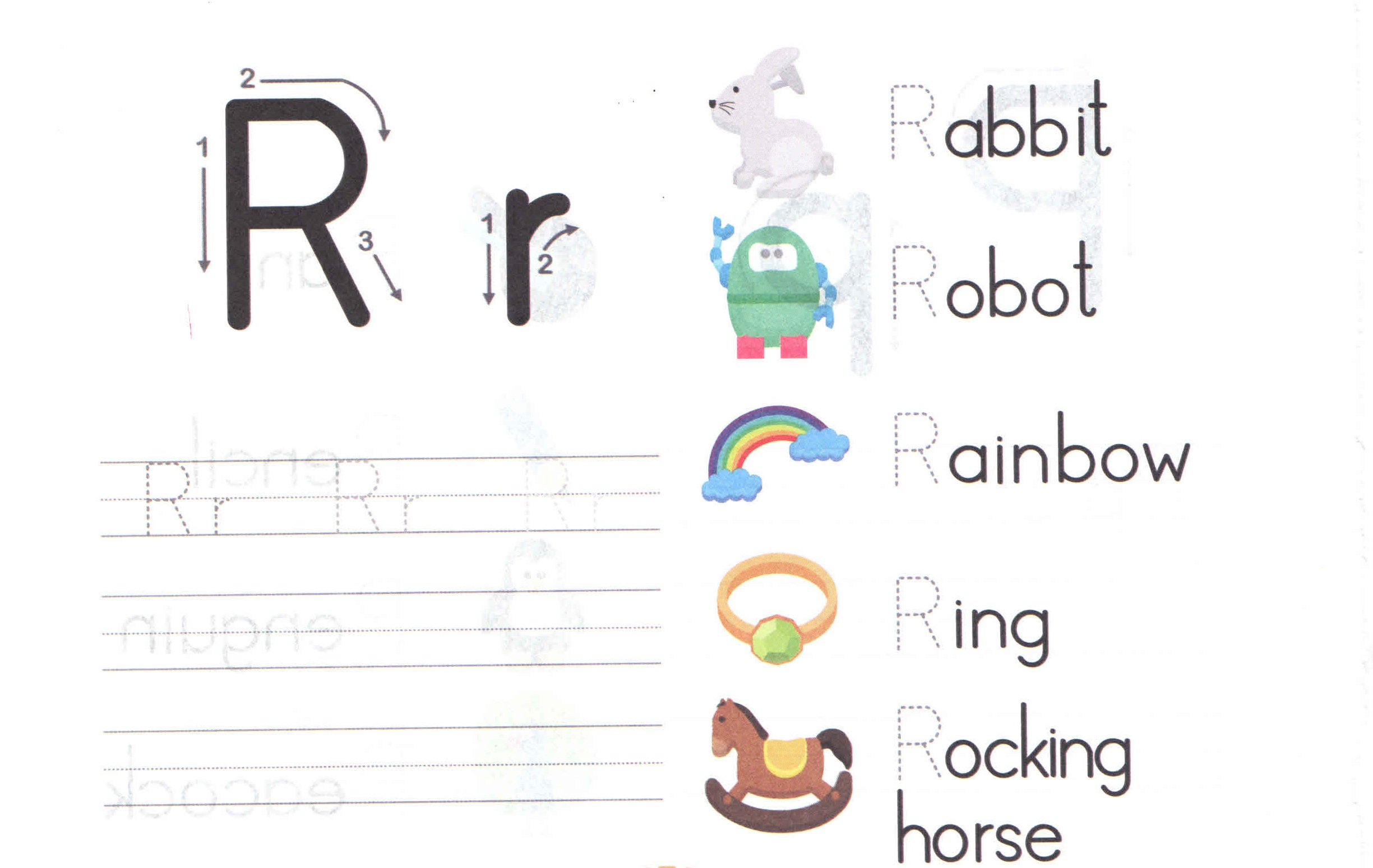 alphabet-capital-and-small-letter-R-r-worksheet-for-kids ...