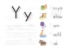 alphabet-capital-and-small-letter-Y-y-worksheet-for-kids