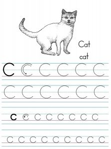 Letter c worksheets for preschool preschool and kindergarten alphabet letter c tracing ibookread ePUb