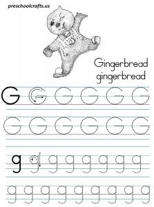 Letter G Worksheets For Preschool Preschool And Kindergarten
