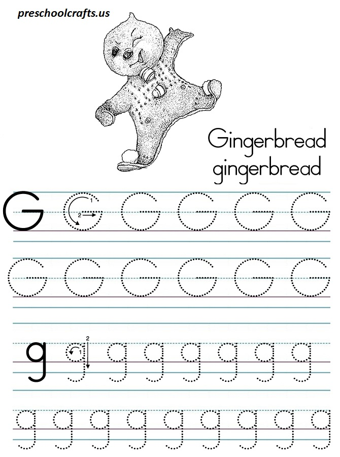 alphabetlettergcoloringpages Preschool Crafts – Letter G Worksheets for Preschool