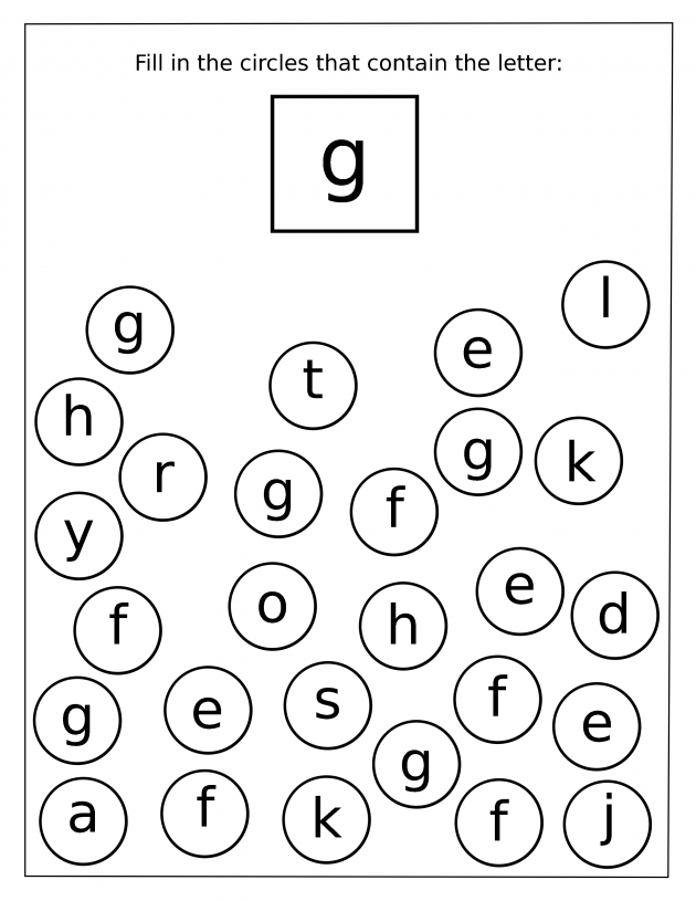 Alphabet Letter Recognition Worksheet Color  Letter Of Recognition
