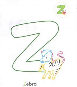 alphabet-letter-z-zebra-coloring-page-for-preschool
