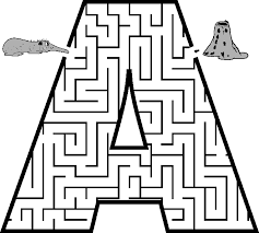 capital-letter-A-maze-for-kids