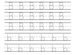 math worksheet : letter b worksheets  preschool crafts : B Worksheets For Kindergarten