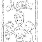 free mother's day coloring pages for preschool