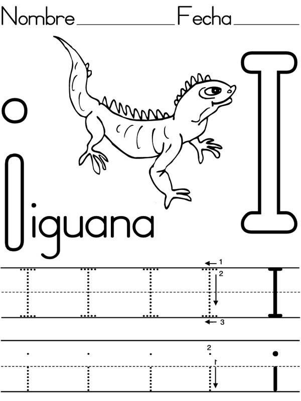 free printable letter i worksheets Archives Preschool Crafts – Letter I Worksheets