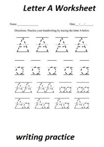 letter-a-worksheet