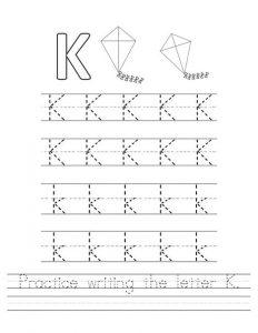 practice-writing-the-letter-k_worksheet