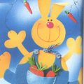 Rabbit Puppet and Carrots Activity for Easter
