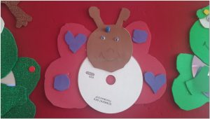 butterfly cd crafts for preschool