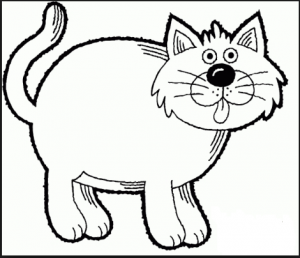 Cat Coloring Pages For Kid