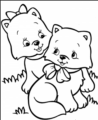 Cat Coloring Pages for Preschool - Preschool and Kindergarten