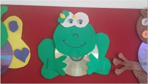 cd crafts frog