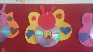 cd crafts ideas for kinderfarten