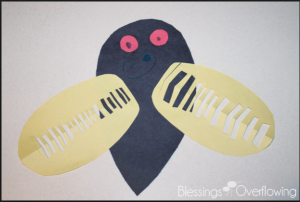 cicadas craft ideas for kids