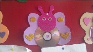 kindergarten cd crafts