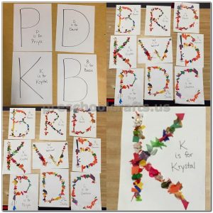 letter alphabet crafts