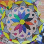 mandala bulletin board art activities