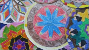 mandala bulletin board art activities ideas