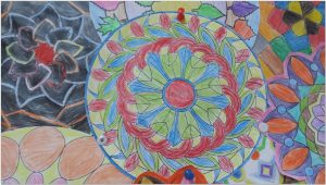 mandala bulletin board ideas2