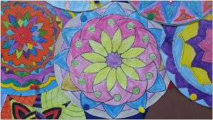 mandala bulletin boards art activities for preschool