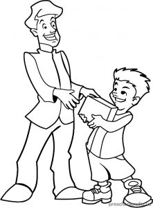 printable world father's day for kids