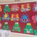 simple cd crafts bulletin board ideas