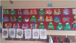 simple easy cd crafts bulletin board