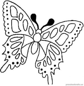 Free–printable animals-butterfly-coloring-pages-for-kids