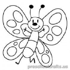 Free–printable-animals-butterfly-coloring-pages for-kids