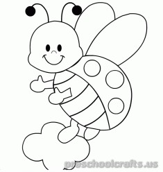 freeprintable animals butterfly coloring pages for kids kindergarten