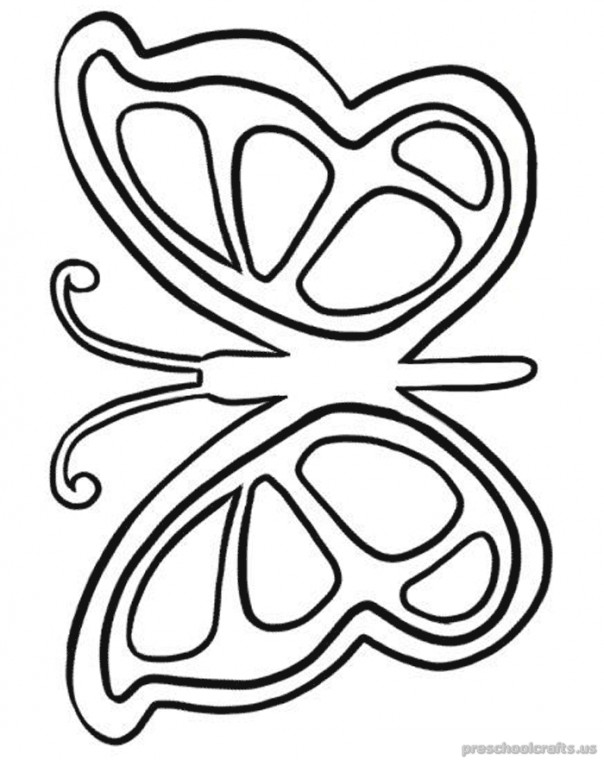 Free-printable-animals-butterfly-coloring-pages-for ...