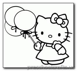 cat coloring pages-for kids