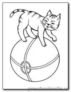 cat-coloring pages for preschoolers