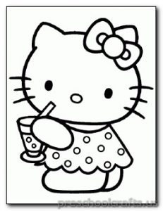 kitten-coloring pages for kids