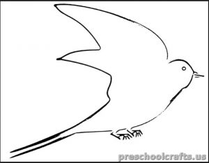 swallow coloring pages for kids free