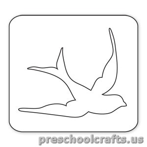 swallow free coloring pages for kids