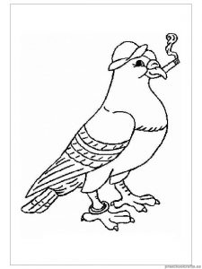 swallow printable coloring pages for preschooler
