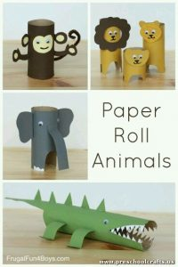 animals-craft-ideas-for-kids-with-paper-rolls