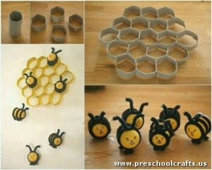 bee-craft-idea-with-toilet-rolls