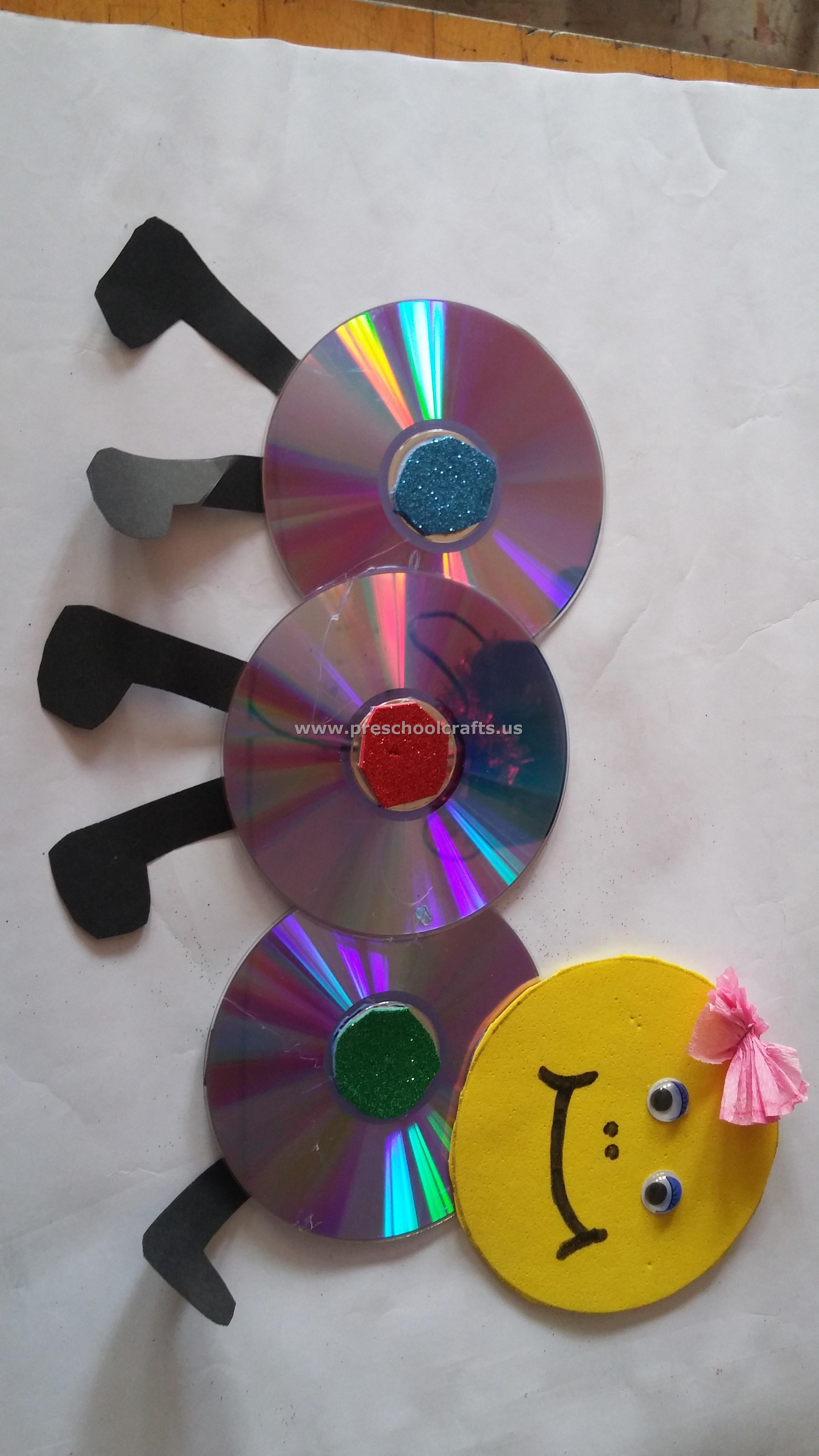 cd-craft-for-preschool - Preschool Crafts