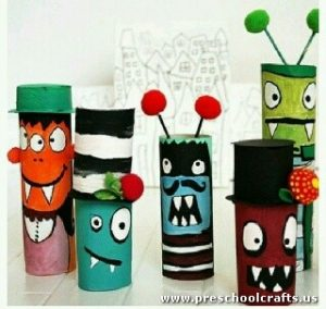 halloween-craft-idea-with-paper-rolls