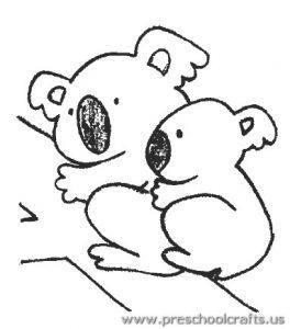koala-coloring-page