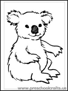 koala-coloring-pages-for-preschoolers