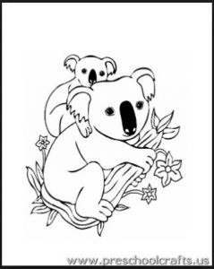 koala-coloring-pages-ideas