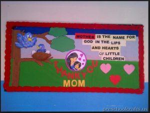 labor day bulletin board idea for kid