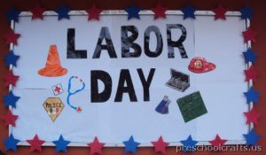 labor day bulletin board ideas for kid