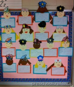 labor day bulletin board ideas for toddler