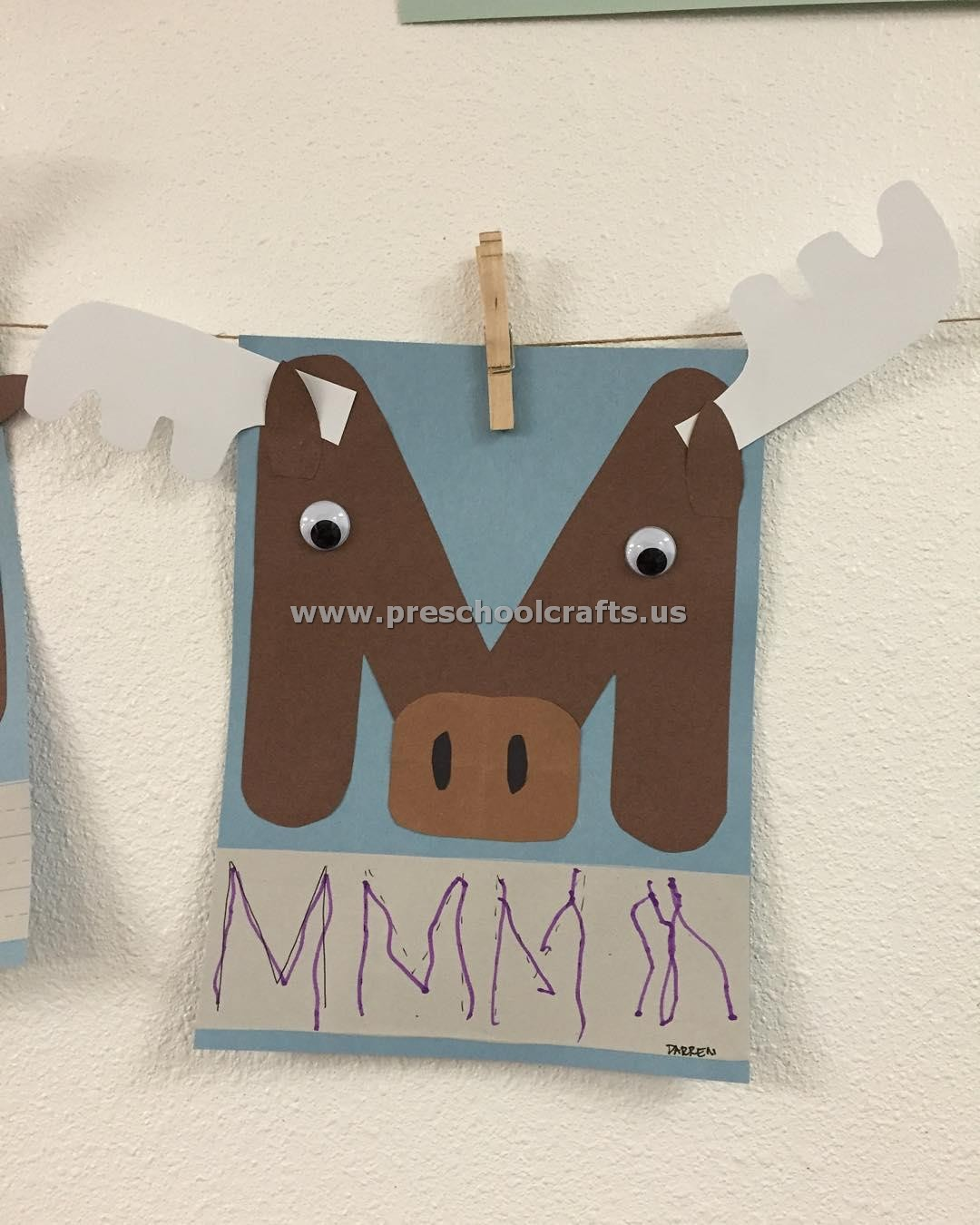 letter-m-crafts-for-kindergarten - Preschool Crafts